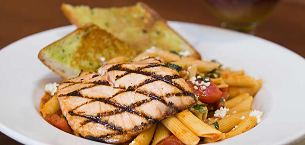 fresh salmon crepevine Restaurant